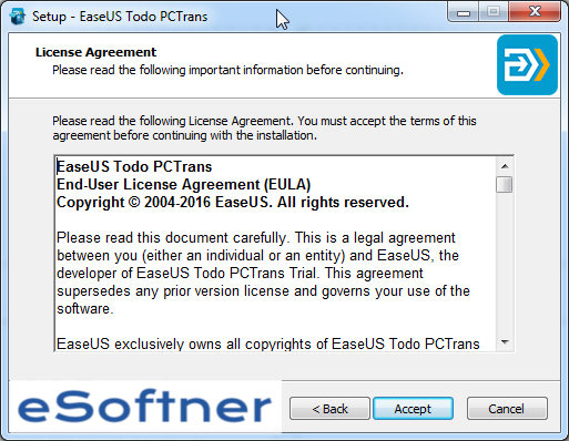 Download EaseUS Todo PCTrans for Windows