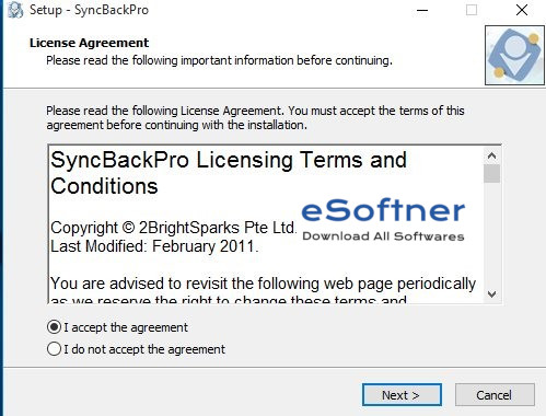 Sync Back Pro Download