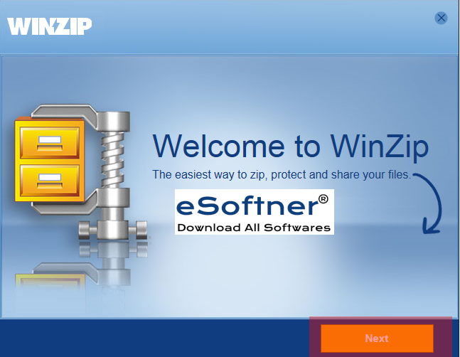 welcome to winzip