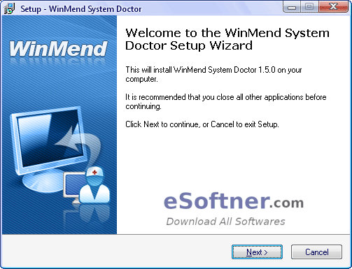 How to Install Winmend System Doctor