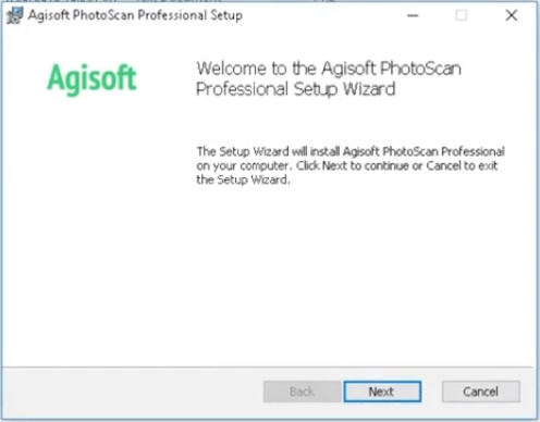 How to Install Agisoft Photoscan