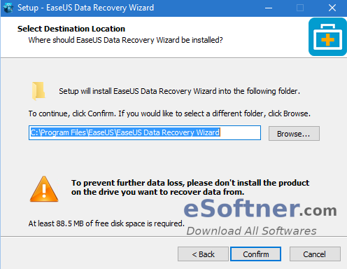How to Install EaseUS Data Recovery