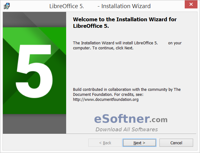 Download LibreOffice for Windows