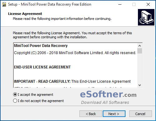 How to Install MiniTool Power Data Recovery