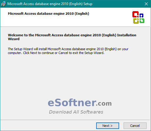 Download and Install Microsoft Access Database Engine Download