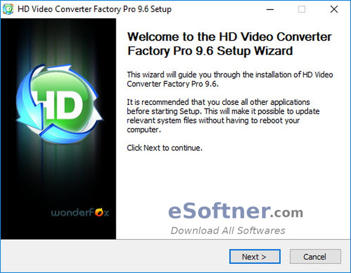 How to Install Wonderfox HD Video Converter