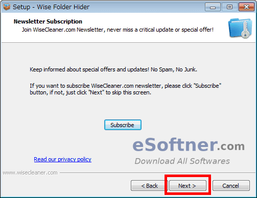 How to Install Wise Folder Hider