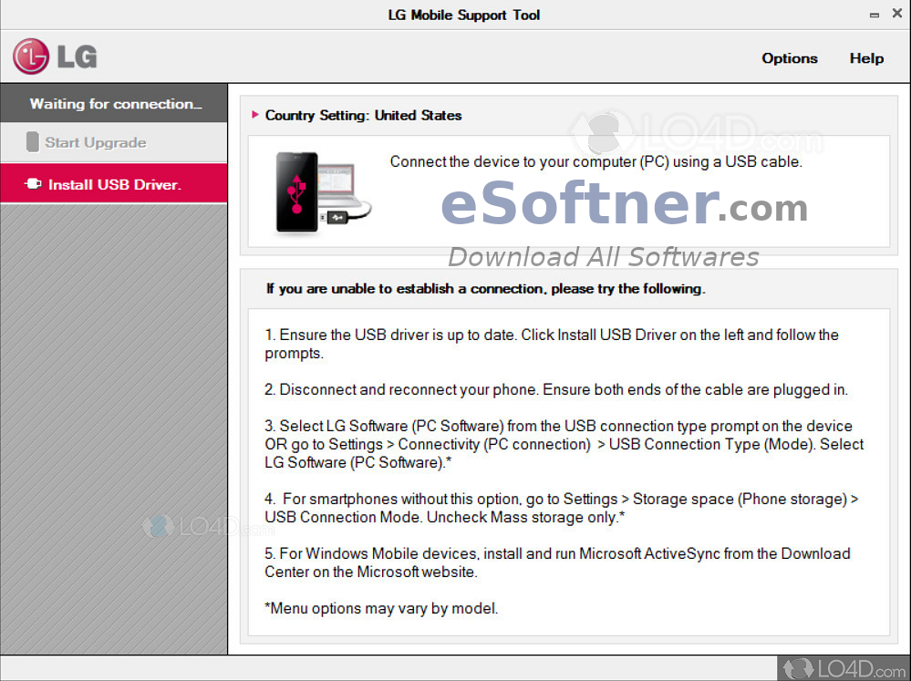 Download LG Mobile Support Tool Free