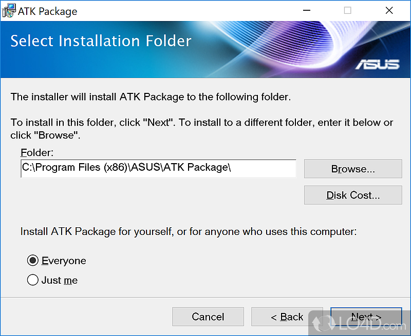 ATK Package Download