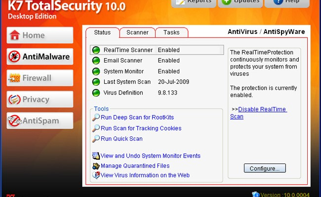 K7 Total Security Free Download