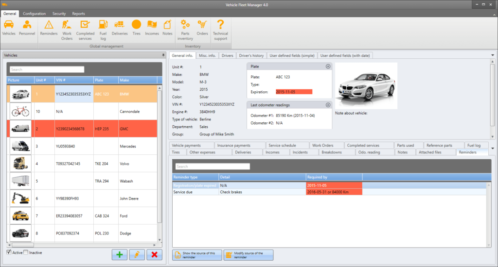 Vinity Soft Vehicle Fleet Manager Free Download