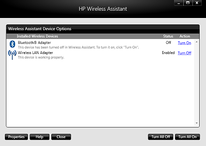 HP Wireless Assistant Download