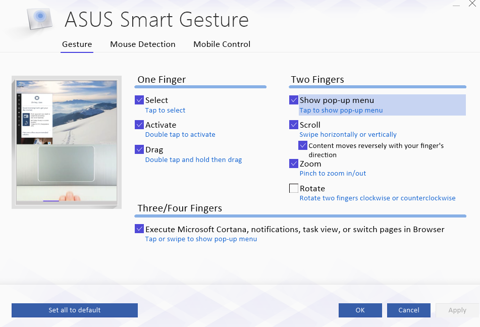 ASUS TouchPad Drivers Download