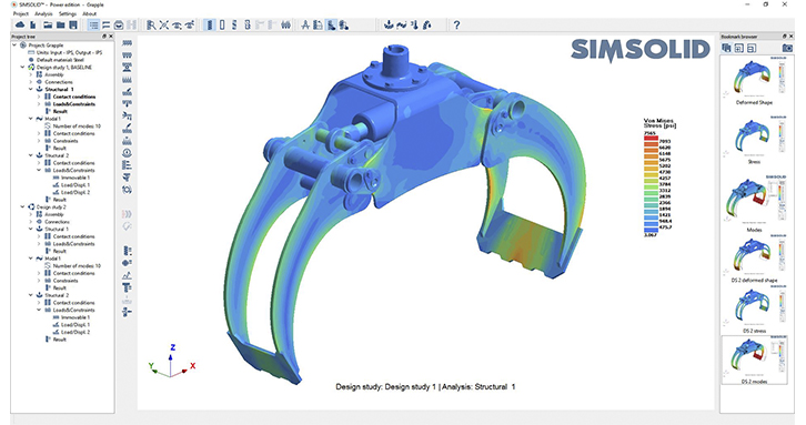 Altair SimSolid Analysis Software