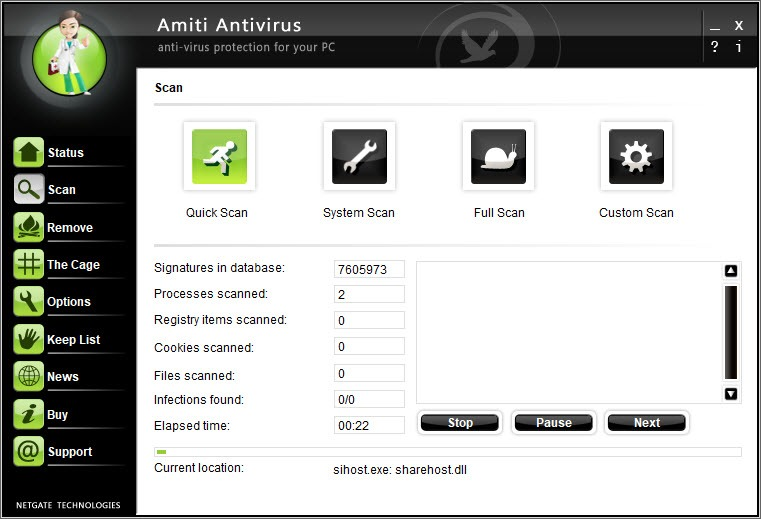Amiti Antivirus Download