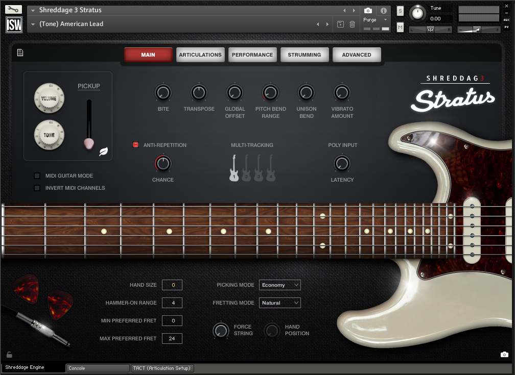 Shreddage 3 Stratus Kontakt Free download