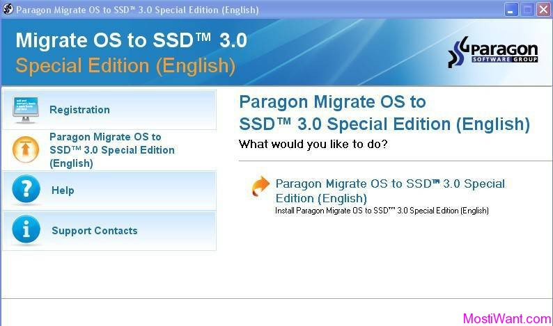 Paragon Migrate OS to SSD Download