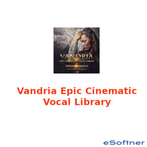 Vandria Epic Cinematic Vocal Library Logo