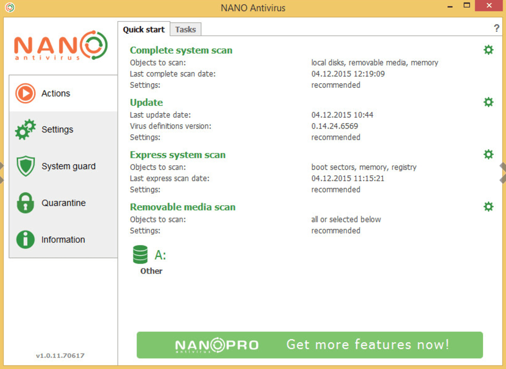 NANO Antivirus Pro Download