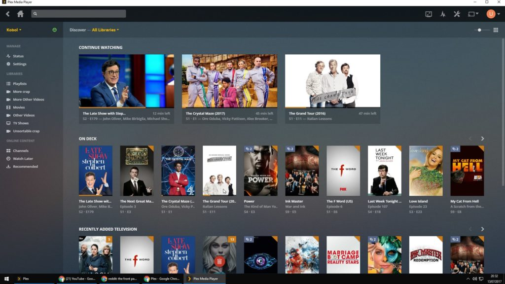 Plex Media Player Home Theater Download