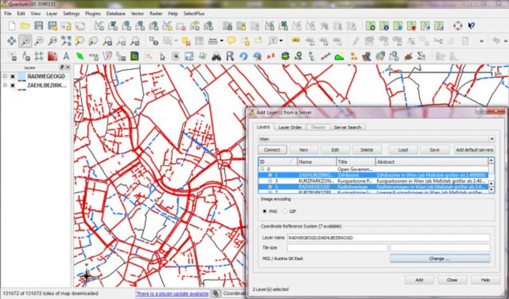 Quantum GIS Geographical information system