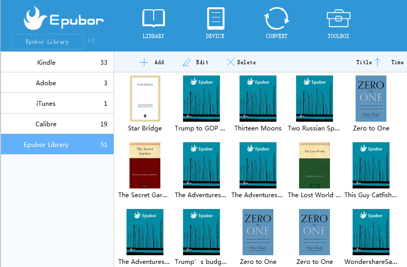 Epubor eBook Manager Download