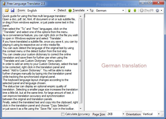 Free Language Translator Free