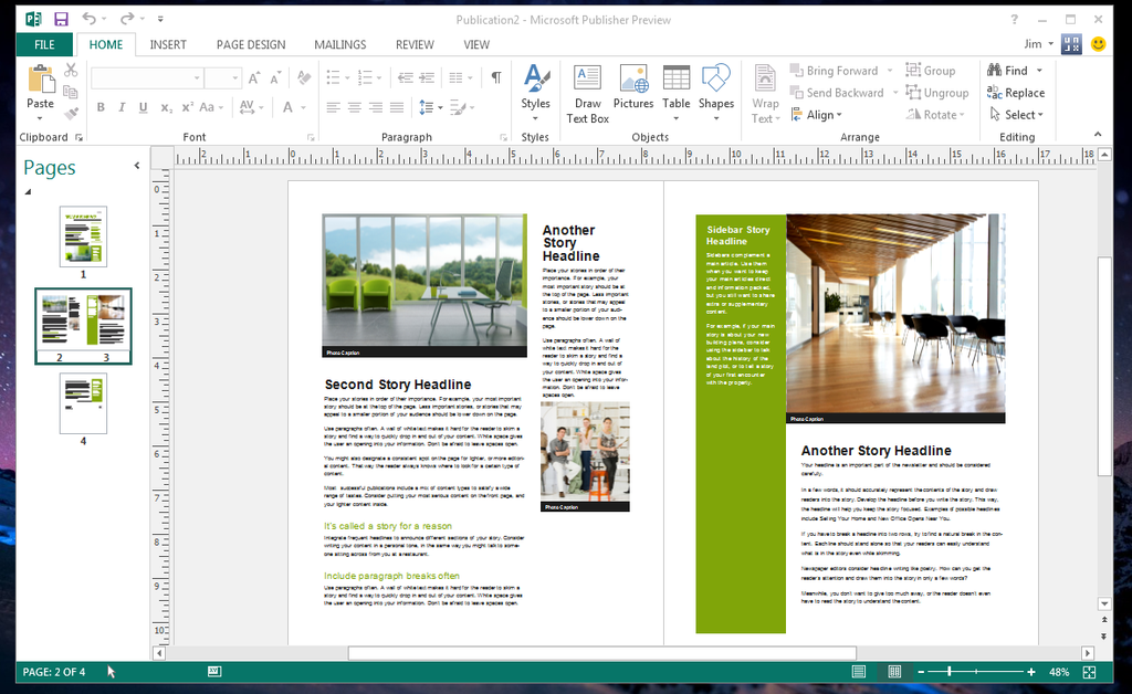 Microsoft Publisher Free Download