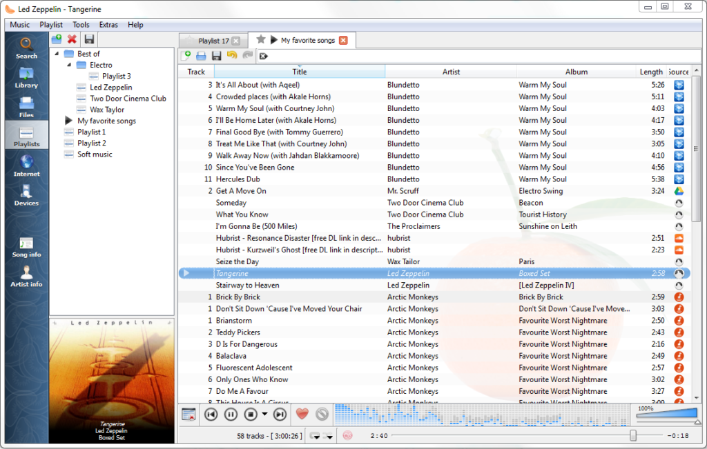 Clementine Music Player Download