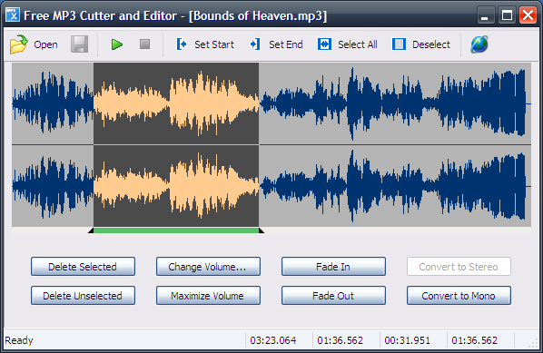 Free MP3 Cutter and Editor Download