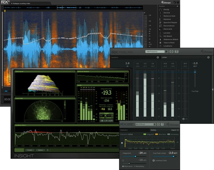 iZotope RX Post Production Suite Download