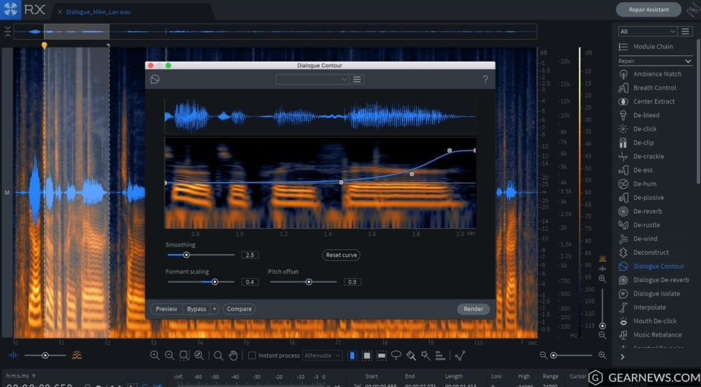iZotope RX Post Production Suite Free Download