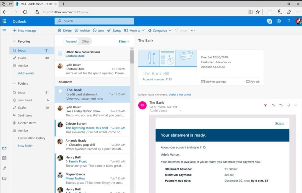 Microsoft Outlook Free Download