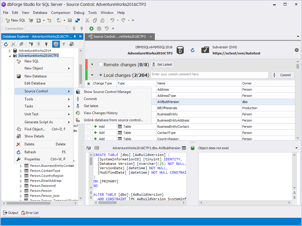 dbForge Studio for SQL Server Download