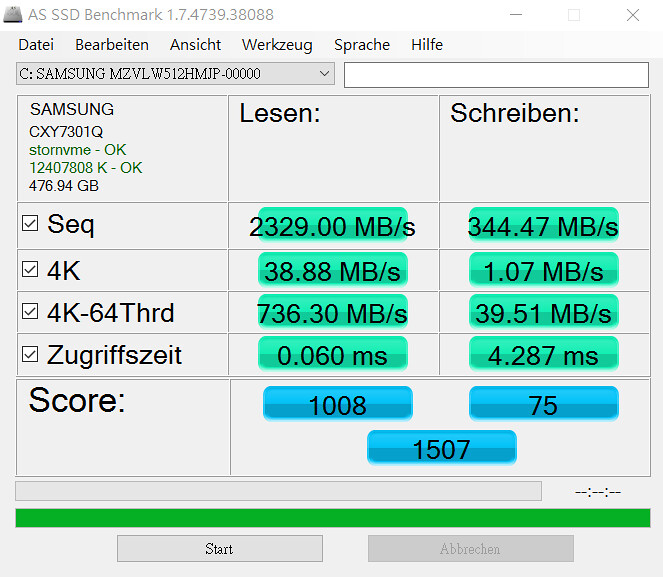 AS SSD Benchmark Free Download
