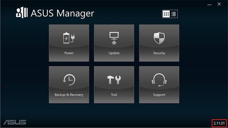 ASUS Manager Update | Download [145 MB]