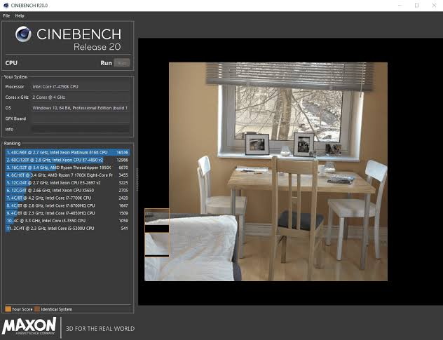CINEBENCH Free Download