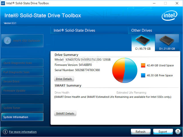 Intel Solid-State Drive Toolbox Download