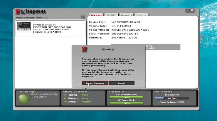 Kingston SSD Manager Download