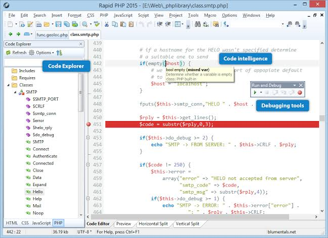 Rapid PHP Editor Free Download