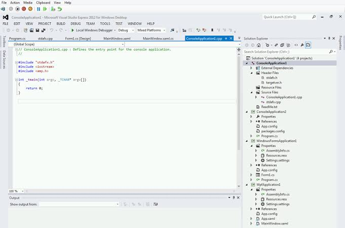 Visual Studio Express Free Download