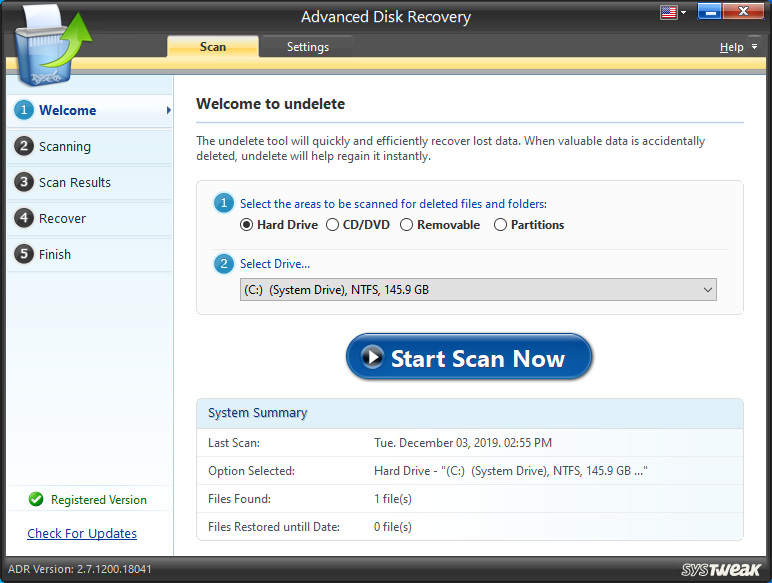 Advanced Disk Recovery Download