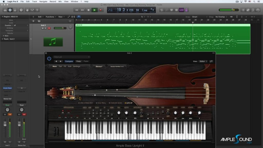 Ample Sound – Ample Bass Upright III VST Free Download