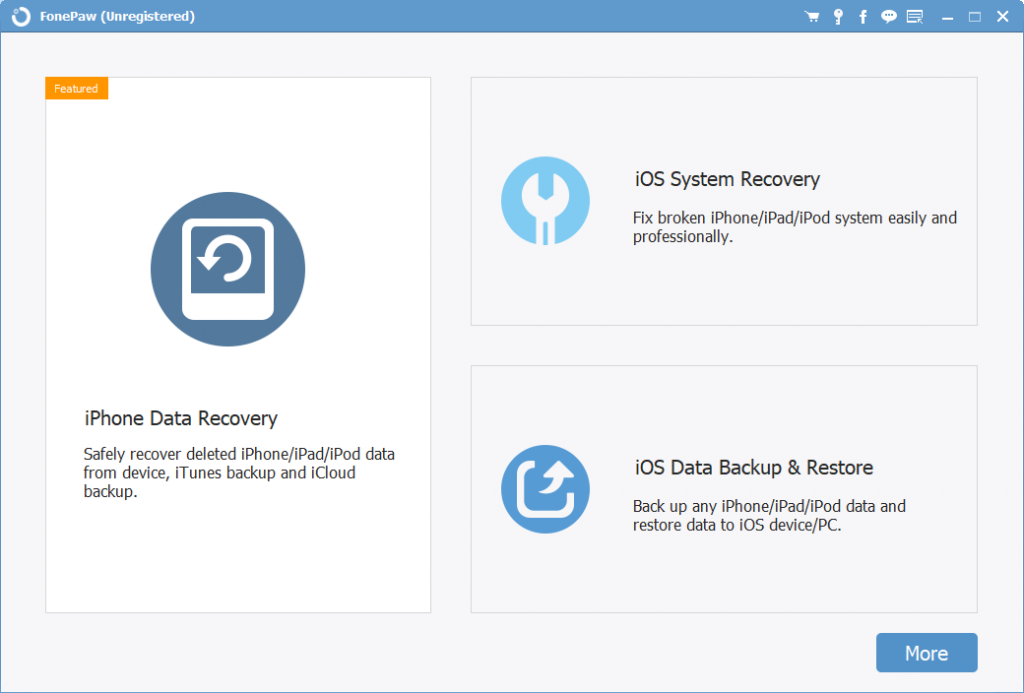 FonePaw iPhone Data Recovery Download