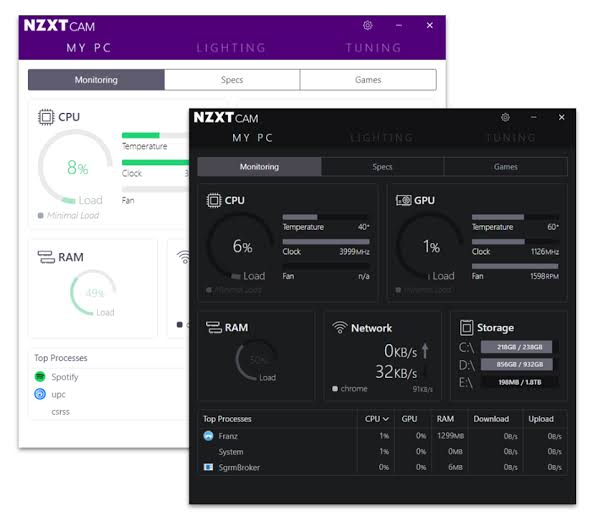 NZXT CAM Free Download