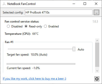 NoteBook FanControl Download