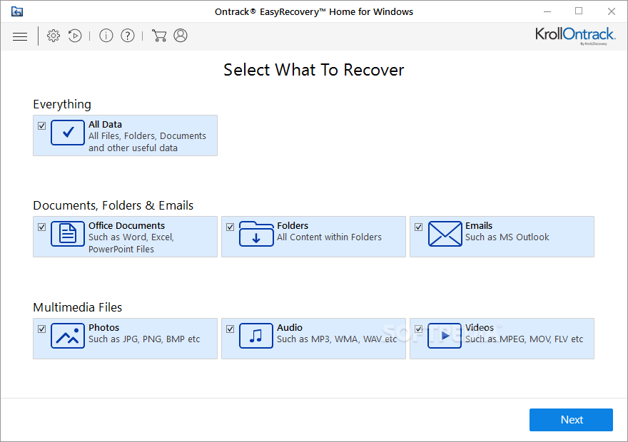 Ontrack EasyRecovery Free Download