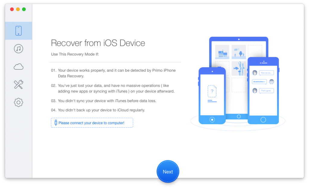Primo iPhone Data Recovery Download