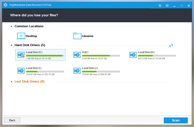 TogetherShare Data Recovery Download