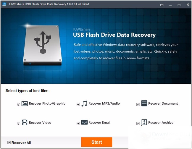 USB Flash Drive Data Recovery Portable Download